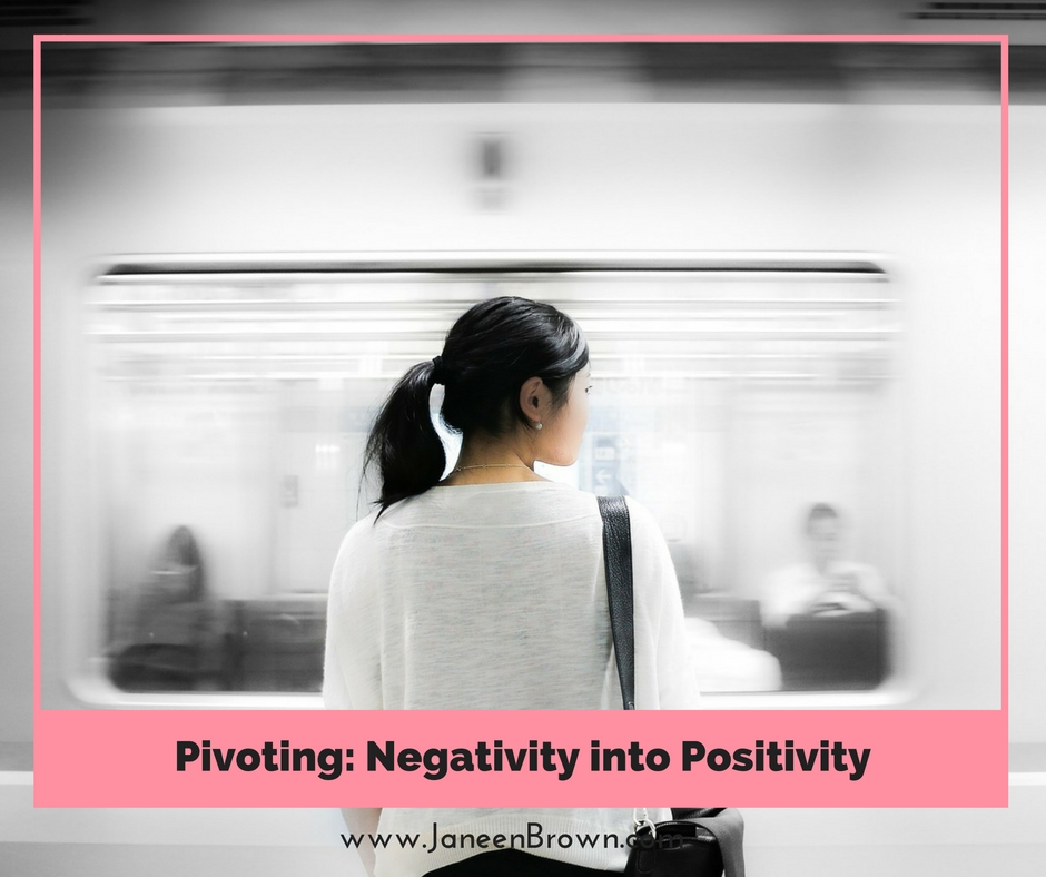 Pivoting Negativity into Positivity
